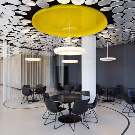 restaurant at the spiegel   projects   alcantara stone™, Innedesign